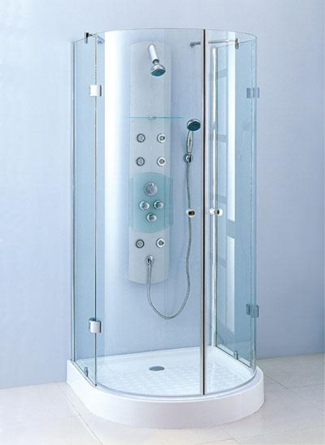 những lợi ích khi dùng vách kính tắm