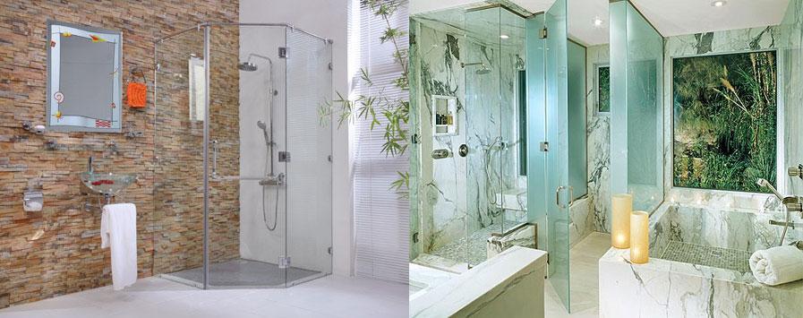 Sở hữu phòng tắm kính đẹp để có không gian đẹp tại quận 9 hcm
